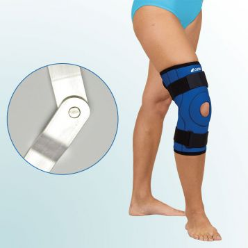 - Knee Joint Orthesis – short curative with hinge, sleeve-type