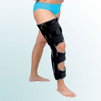 - Knee Joint Orthesis rigid with 20 degrees flexion, one-part