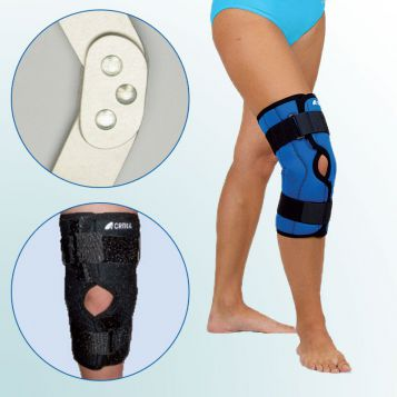- Knee Joint Orthesis – short curative with two-axis hinge