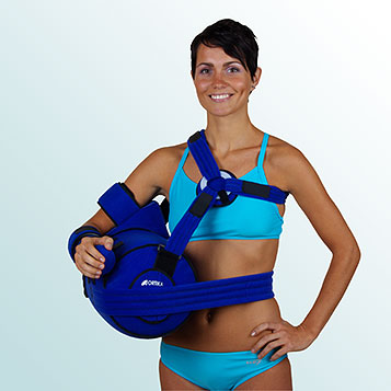 - Abduction Splint with Positioning Wedges