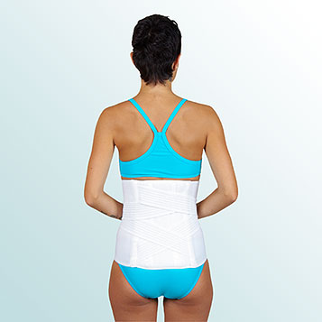 - Lumbar Belt with Auxiliary Pull and Supports