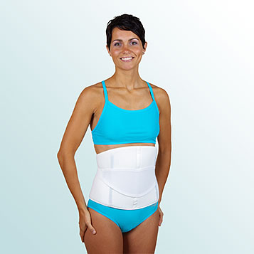 - Abdominal Belt with Auxiliary Pull