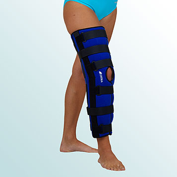 - Knee Joint Orthesis rigid with 20 degrees flexion