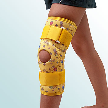 - Knee Joint Orthesis, Sleeve-Type with support