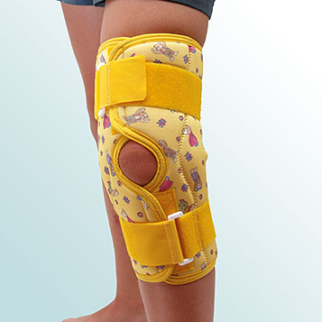 - Knee Joint Orthesis, Short curative with hinge – releasing