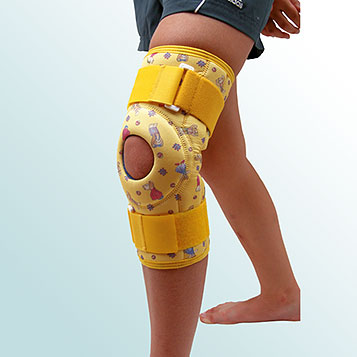- Knee Joint Orthesis, Short curative with hinge – sleeve-type